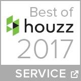 Best of houzz Award 2017 - Service